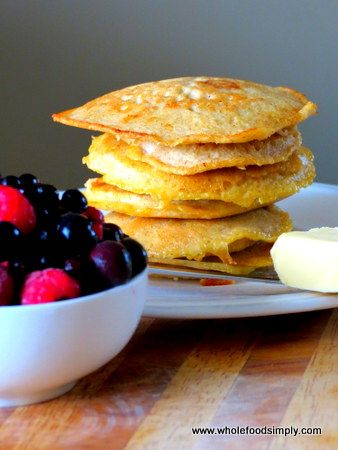Wholefood Simply - Paleo Pancakes
