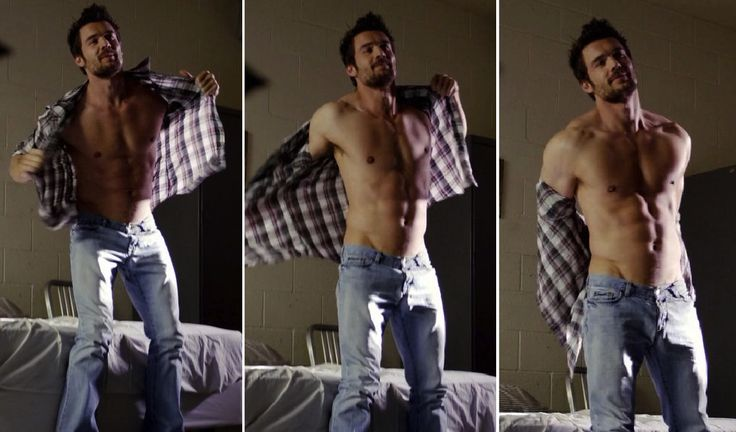 my new plaid pants: Charlie Weber Is Glory