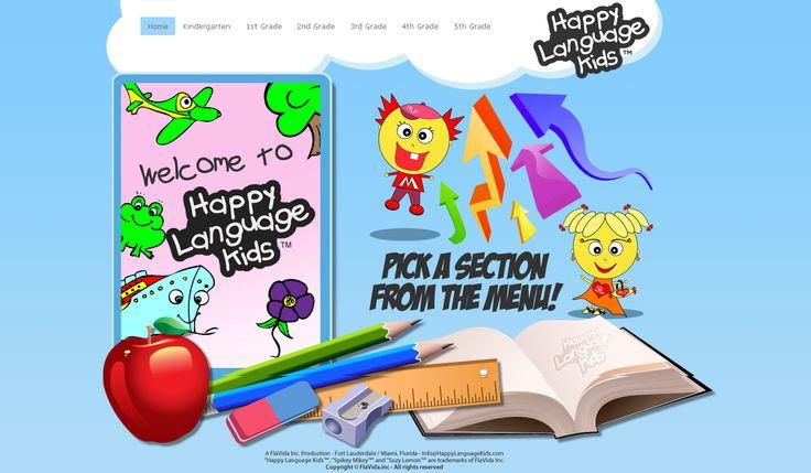 E-learning Kids Application- ASCENTEQ