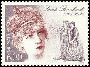 Resultado de imagem para selo de Sarah Bernhardt