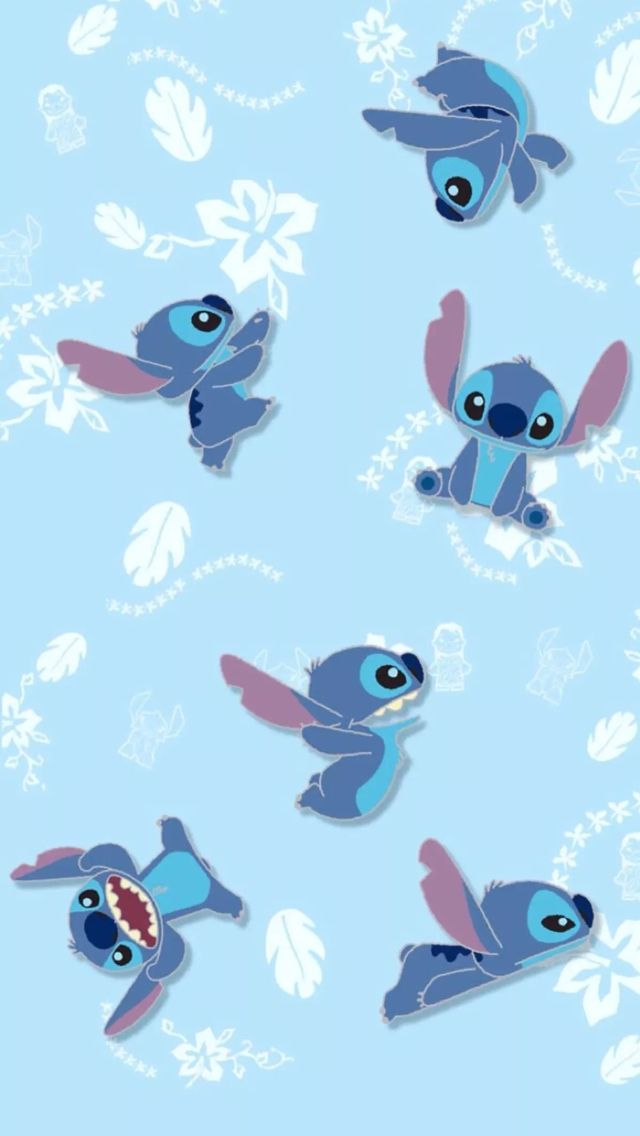 Wallpaper  Wallpaper disney  Pinterest  Stitches, iPhone wallpapers and Kawaii