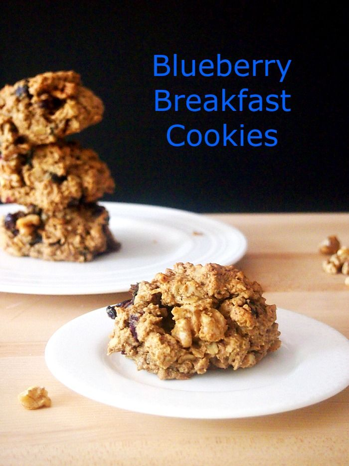 Check out Blueberry Breakfast Cookies #SundaySupper. It's ...