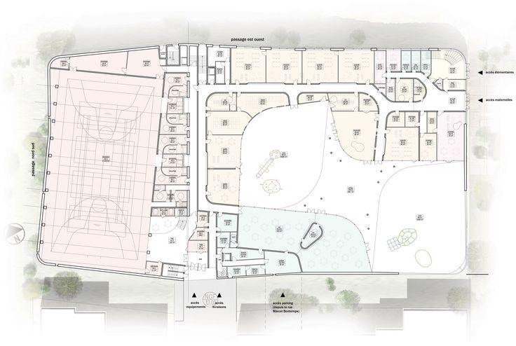 Primary School & Sport Hall / Chartier-Dalix architects