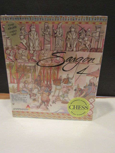 Vintage Computer Game for DOS Sargon 4 - Computer Chess Game by mariehotdeals on Etsy