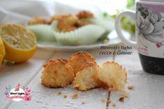 Biscotti light cocco e limone