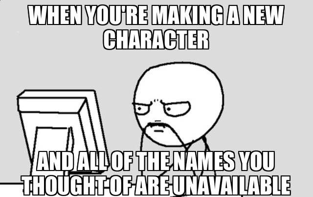 Hate when I think of a cool name and it's already taken