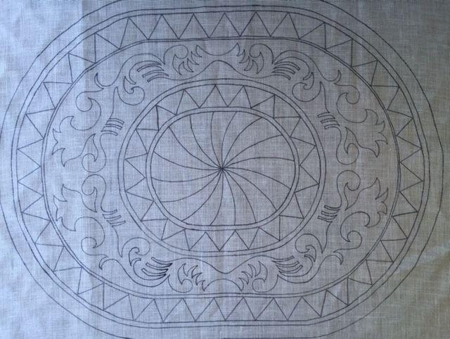 A blog about rug hooking, rug hooking designs, rug hooking patterns, wool. Folk Art Landing, Monika Jones
