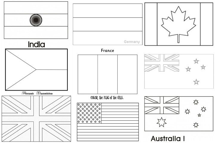 - Printable Coloring Pages Of Flags Around The World World Flag Coloring Pages  12 Kitten Color Page … Flag Coloring Pages, Flags Of The World, World  Flags Printable