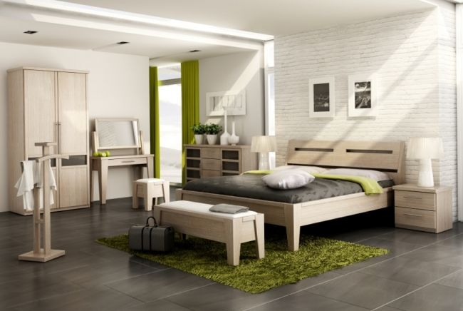 Krásná ložnice z masivu