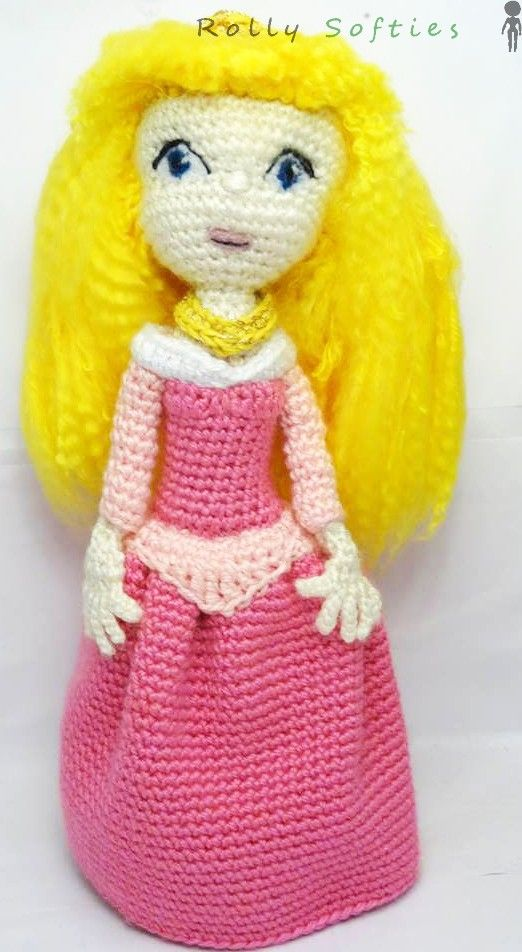 Disney, The sleeping beauty - Princess Aurora, free English pattern  Schema disponibile gratis in italiano