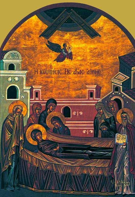 Dormition of St. Anna (25 July)