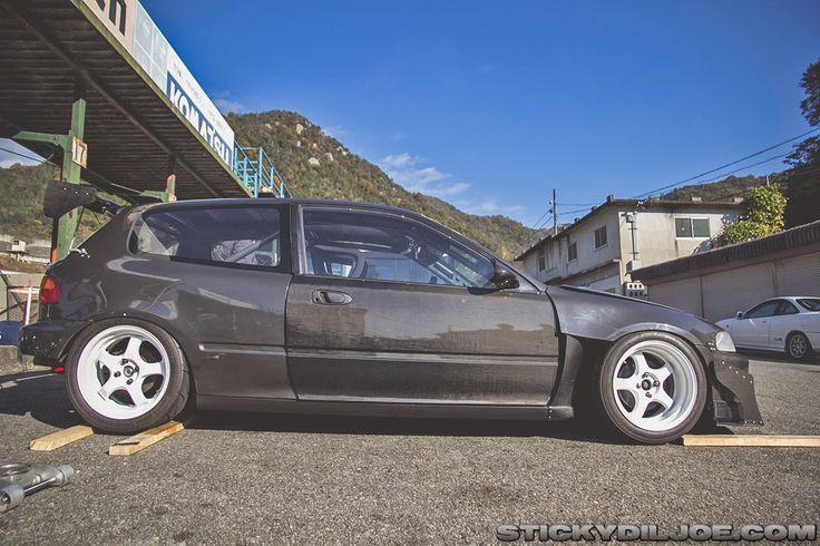 Hechtspeed Tactical Art of Japan EG6 track Civic