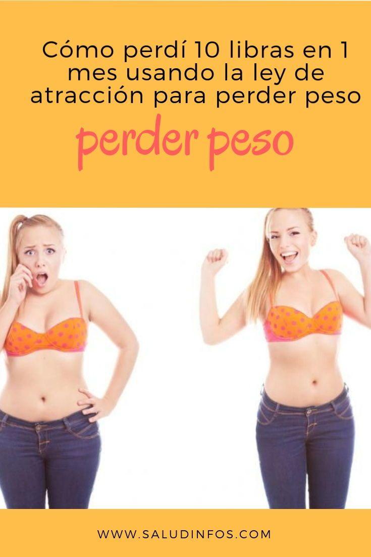 formas de bajar de peso en 1 mes