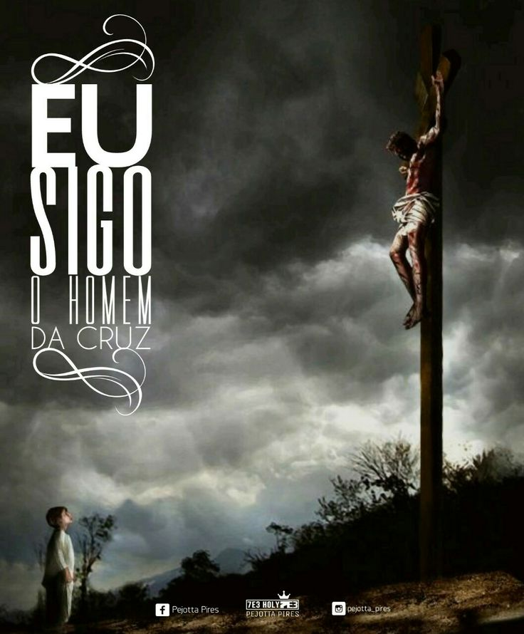 """""""Eu sigo o Homem da Cruz. """" #Jesus #photography #frases #7e3holy #gospel #follow"""