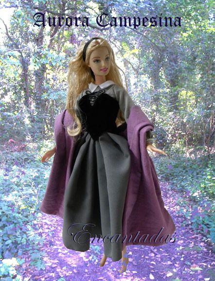 Aurora - Sleeping Beauty forest dress 2 by Encantadas.deviantart.com