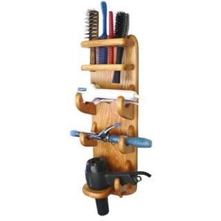 Hair Dryer Bathroom Caddy Flat Iron Curling Iron Hair Dryer Brush Holder - Bath Caddies & Storage