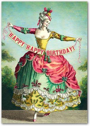 Happy Happy Birthday by Cartolina Cards. I Love this card. $3.49
