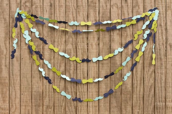 Man Parties, Mustaches Parties, Bows Ties, Birthday Parties, 1St Birthday, Mustaches Bash, Bowties Garlands, Mustaches Garlands, Baby Shower