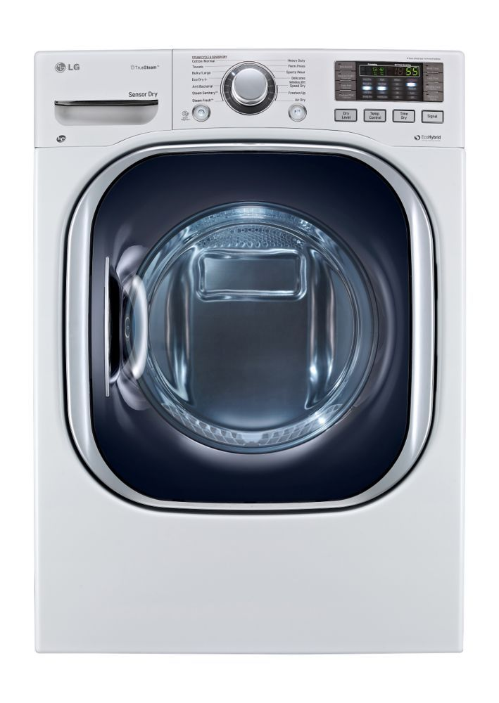 LG 5.0 cu. ft. Front Load All-In-One Electric Washer-Dryer Combo in White - $2700 @HomeDepot