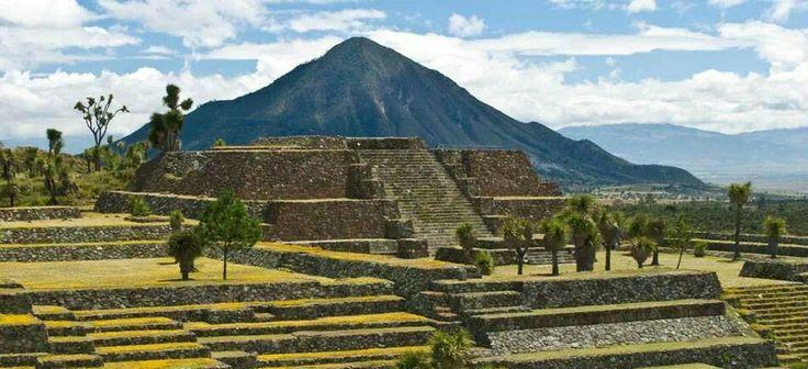 Cantona archeological site, Puebla, Mexico