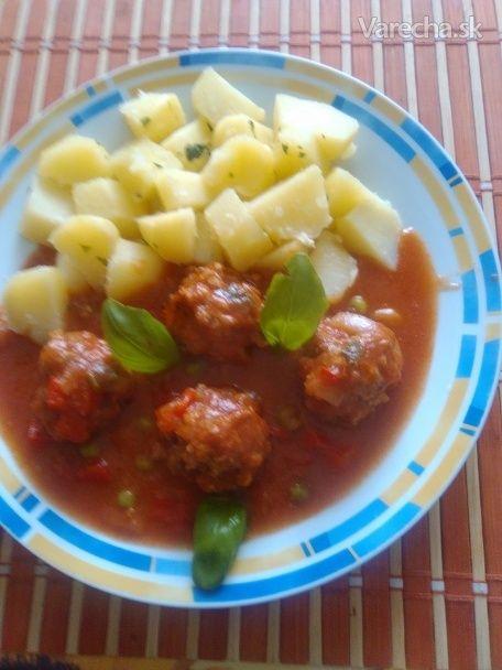 Mäsové guľky trochu ináč (fotorecept) - Recept
