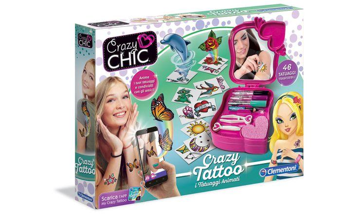 Crazy Tattoo: Tatuaggi animati Clementoni - http://www.beautydea.it/crazy-tattoo-tatuaggi-animati-clementoni/ - Clementoni lancia una linea di tatuaggi con realtà aumentata per bambini: super originali e divertenti per l'estate!