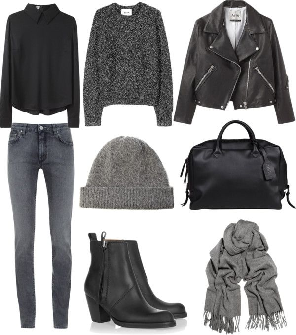 grey + black layers