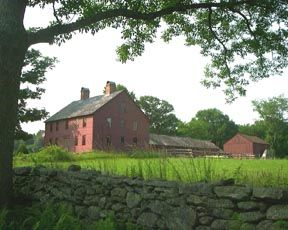 CT Landmarks - Nathan Hale Homestead Coventry, CT.