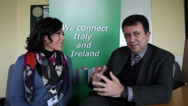 FIBI interviews the Mexican Ambassador in Ireland during B2B -  La FIBI intervista l'Ambasciatore Messicano in Irlanda presente al B2B