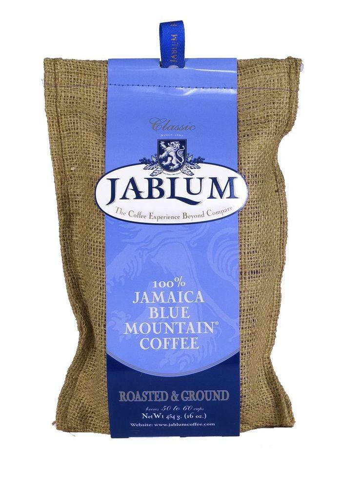 jablum 100 percent jamaica blue mountain coffee organic roasted and ground 2 lbs #Jablum