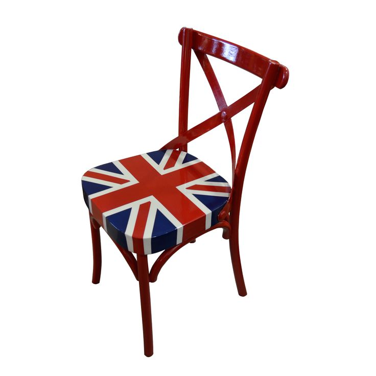 Chair-Union Jack. Stay classy and elegant with our Union Jack chair collection. Pair it with our Union Jack working desk for a perfect set.