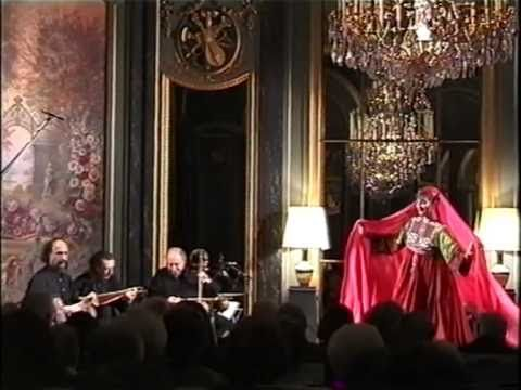 """Srang srang srang - Music & Dance from Afghanistan. . This second video presents an Afghani Logari dance piece in 7/8 called """"Srang srang srang"""" played and arranged by Anello""""Lalloji"""" Capuano and danced by Helene Eriksen in a beautiful full mirrors / full crystal chandeliers baroque ballroom in Paris in 2002. """"Srang srang srang"""" can be also heard in the Anello Capuano's Oriental Dance CD """"OrienTales"""" now on sale on iTune Stores and other leading web's music stores."""