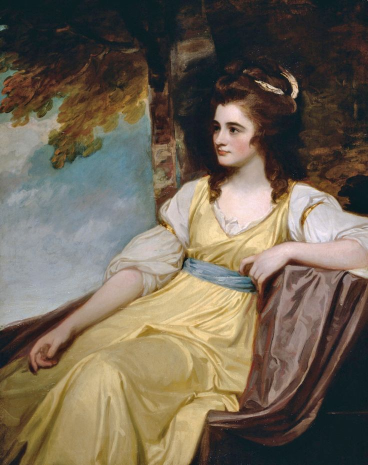 The Hon. Charlotte Clive, 1783, George Romney. The Athenaeum