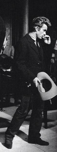 James Dean in 'Giant'.