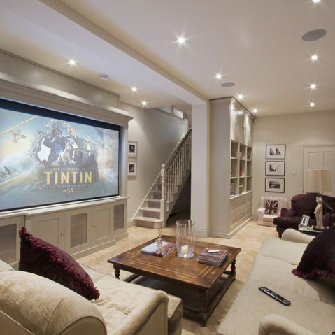 Small basement design ideas pictures remodel and decor for Basement apartment layout ideas