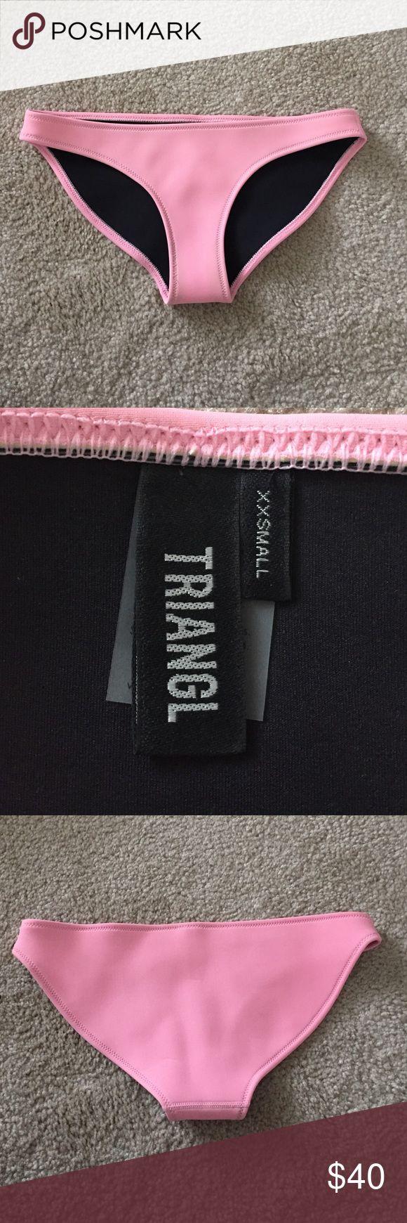 Triangl bikini bottoms Light pink bikini bottoms. Fits a size 0 triangl swimwear Swim Bikinis