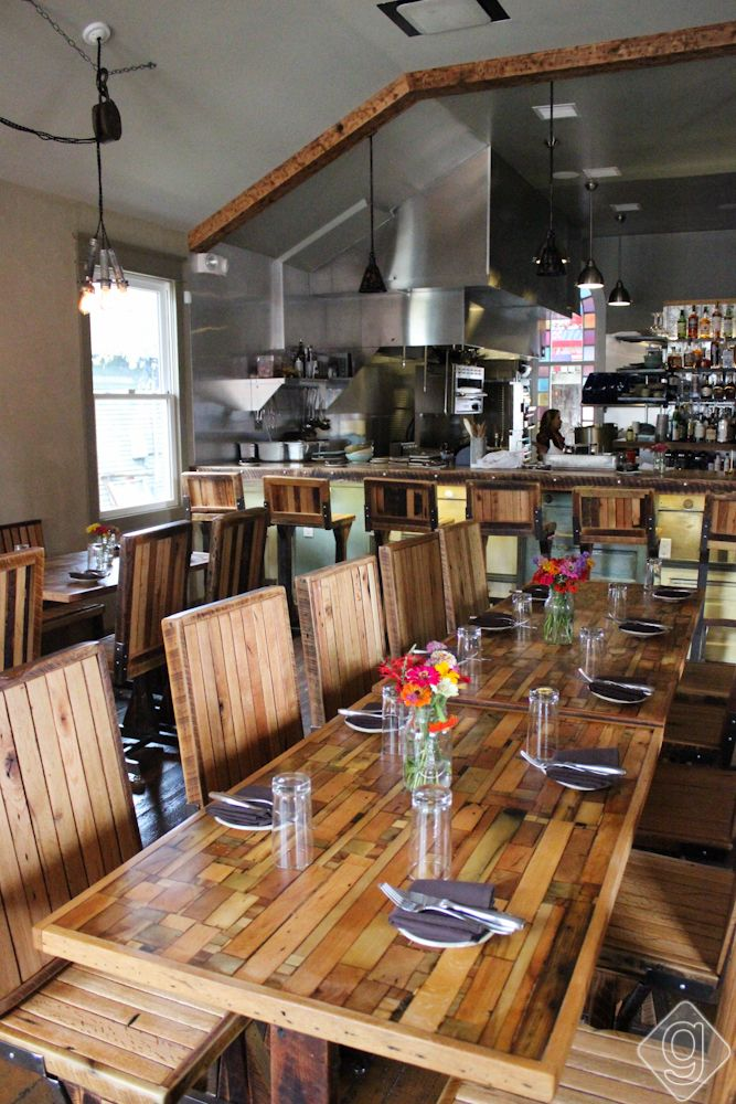 The Treehouse In East Nashville Features A Menu That Is Always Little Diffe And Fresh With Seating For 40 People Expect Co