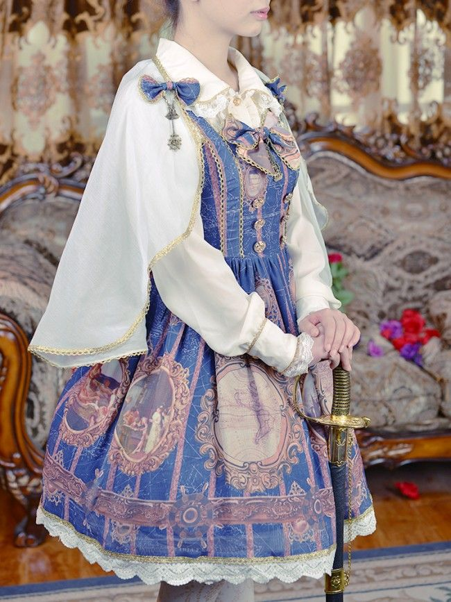 Doris Night ~The Age of Exploration~ Lolita Skirt $64.99 - Lolita Dress - My Lolita Dress
