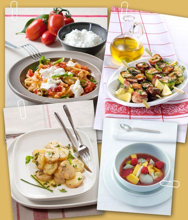 Preparare una cena non richiede necessariamente ore di preparazione: punta sulla semplicità