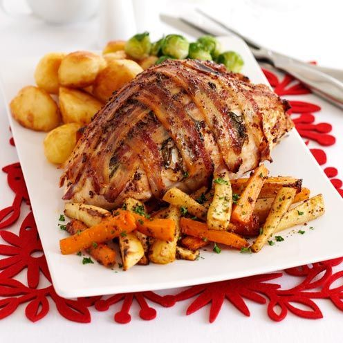 A clever choice if you've never roasted a turkey before. No bones, easy to carve, and it takes less time to cook.
