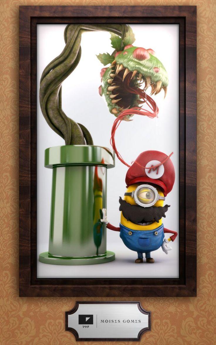 Minion Mario by Moises Gomes