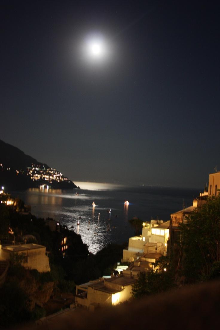 Positano......by night...  Italy!
