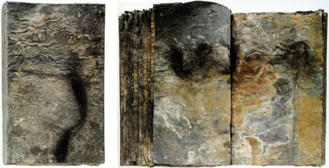 Anselm Kiefer's lead books