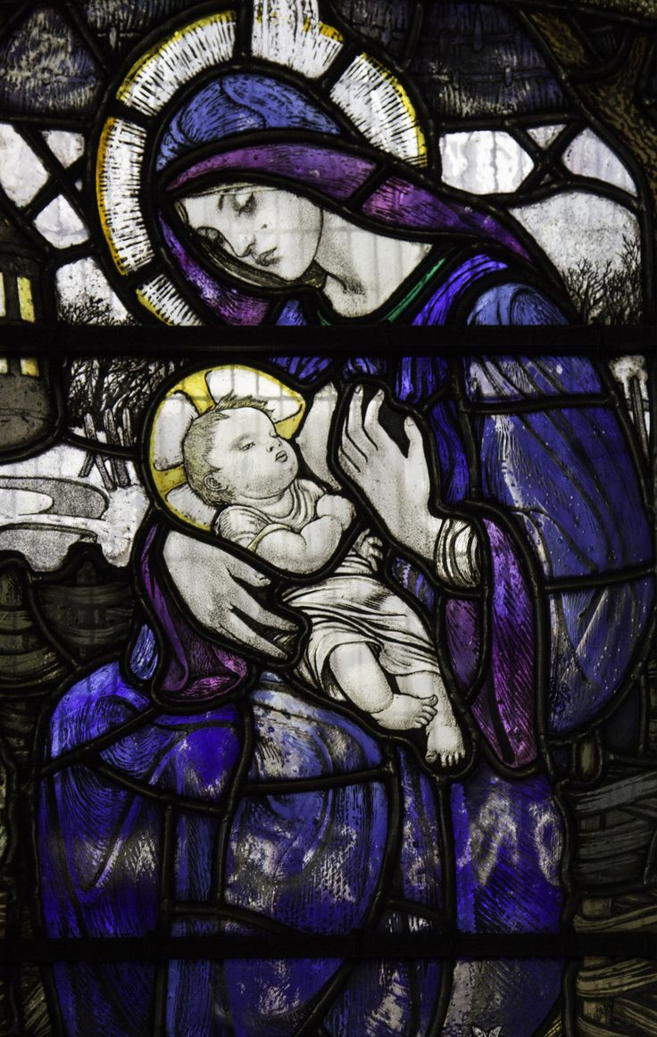 "https://flic.kr/p/pFHN9M | Mother of God | ""Blessed is the womb that bore you, Christ, and blessed are the breasts that suckled you, for you are the Lord and Saviour of the world, alleluia.""  – Magnificat antiphon for the Solemnity of Mary, Mother of God.  Stained glass detail from Old St Paul's, Edinburgh."