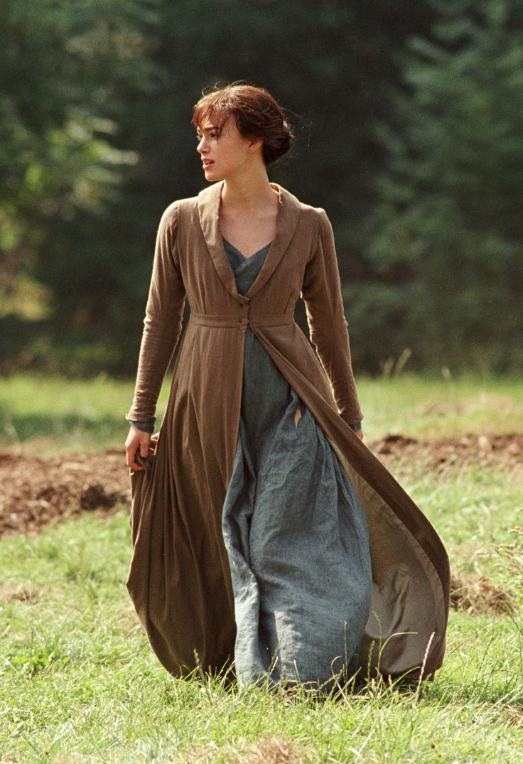 """Joe Wright's """"Pride and Prejudice"""", 2005. I love these clothes."""
