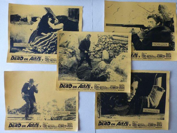 Dead Or Alive (A Minute To Pray A Second To Die) Alex Cord 1968 Lobby Cards  http://r.ebay.com/3gyBN8
