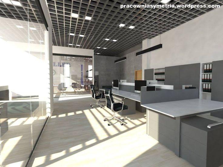 Pracownia Symetria _ biuro office_ meble Balma