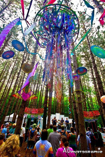 A couple of my friends have been to the Electric Forest event in Michigan, I'd love to go someday!