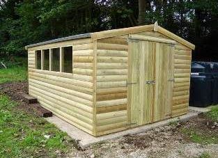 Pinterest Garden Sheds For Sale: Pinterest Garden Sheds For Sale - the tannalised timber will last for years