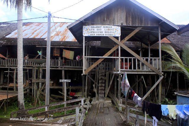 Nanga Nyabau Long House Kapuas Hulu